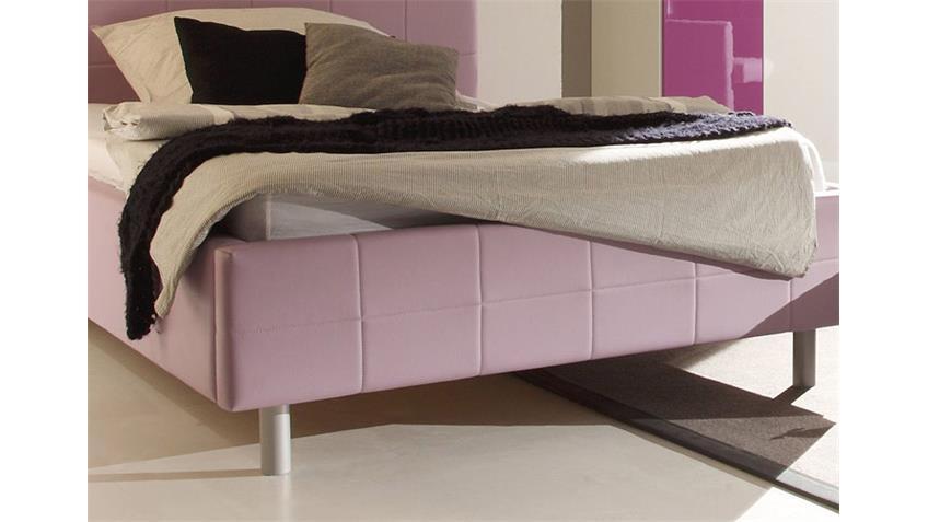 Jugendzimmer SMART Kinderzimmer in lila weiß hochglanz