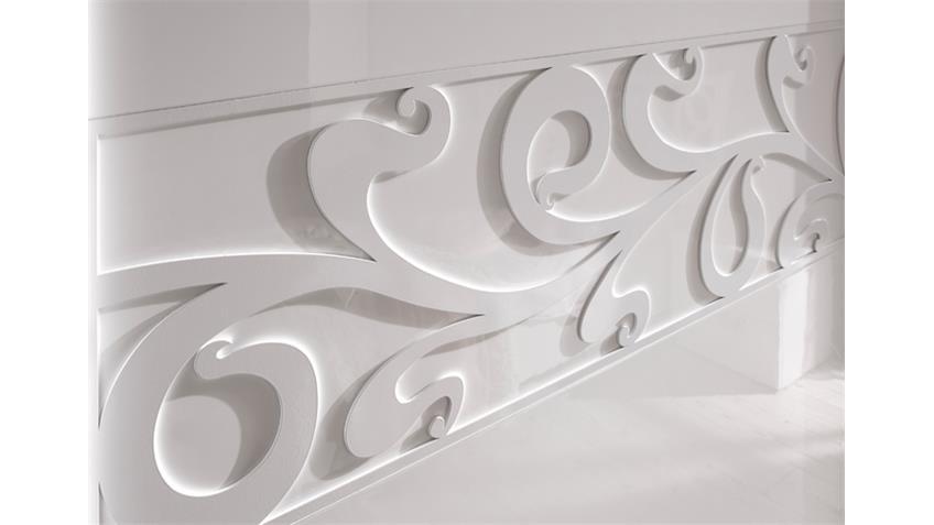 Schlafzimmer AMBROSIA 2  Hochglanz Weiß lackiert