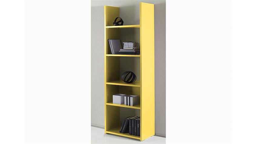Standregal BOX Gelb echt Hochglanz lackiert