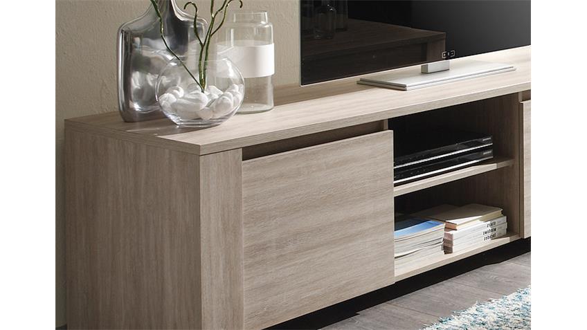 tv unterteil elba lowboard kommode in eiche gek lkt dekor. Black Bedroom Furniture Sets. Home Design Ideas