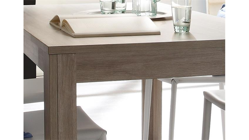 Esstisch ELBA Tisch in Eiche gekälkt Dekor 180x90 cm