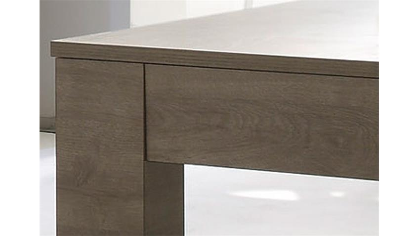 Esstisch SIDNEY Holzdekor Eiche Grau in 180x90 cm