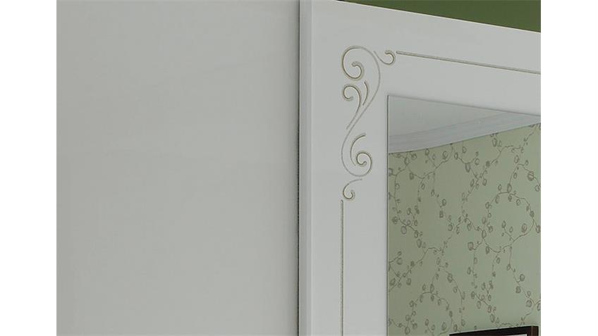 Schwebetürenschrank MUSA DEA Weiß Hochglanz 314 cm