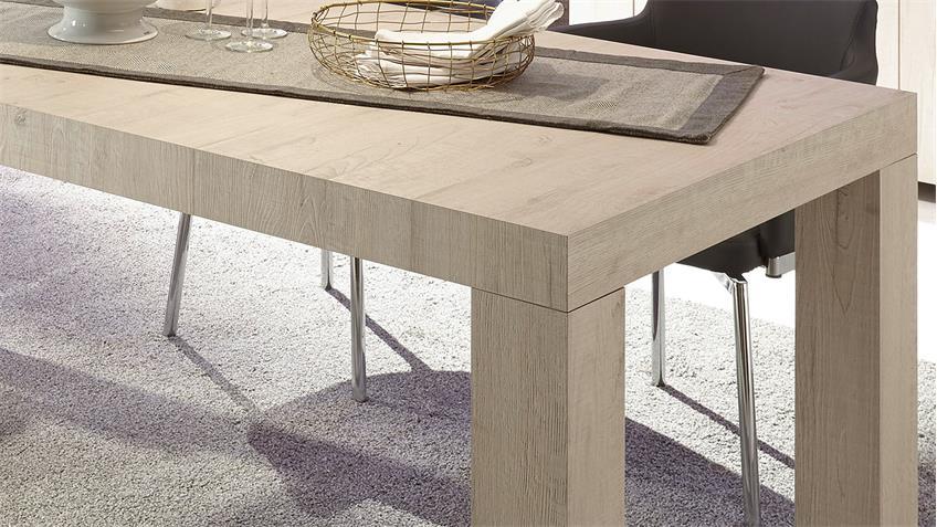 Esstisch PALMIRA Esszimmertisch Tisch in Eiche hell 189x86 cm