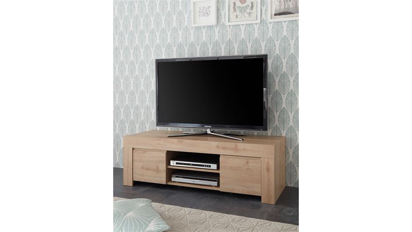 TV-Board FIRENZE Lowboard Kommode Wohnzimmer Eiche Cadiz