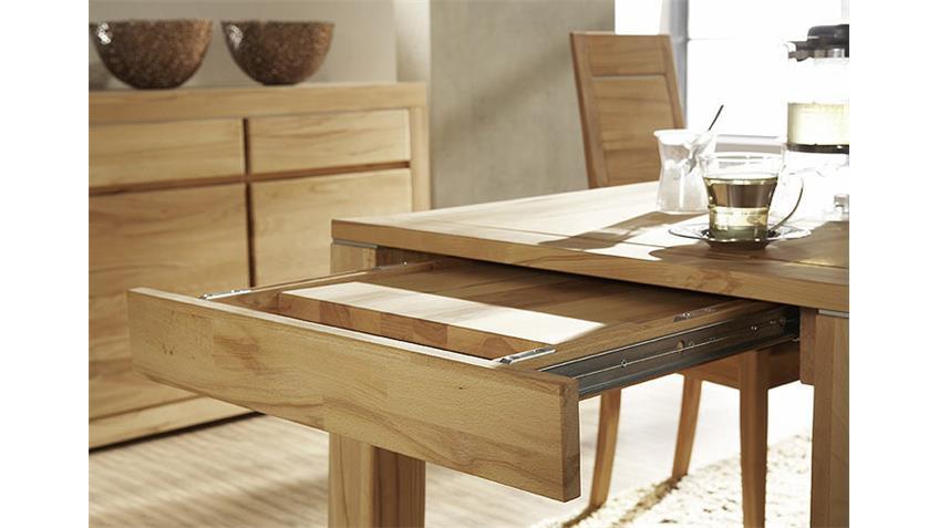 Esstisch PAUL Tisch in Kernbuche massiv Breite 160 cm