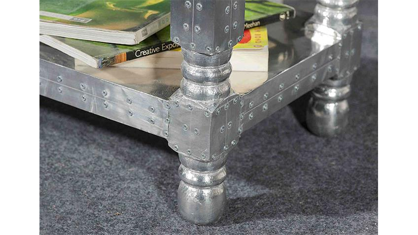 Telefontisch AIRMAN mit Aluminium beschlagen