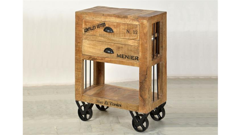 kommode rustic mango massiv antik 60 cm breit. Black Bedroom Furniture Sets. Home Design Ideas