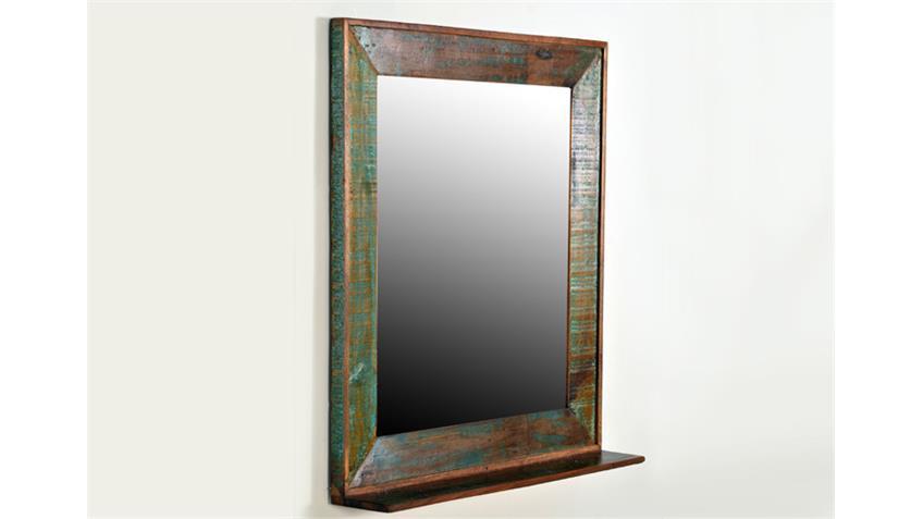 Spiegel RIVERBOAT echtes Altholz 2 Türen