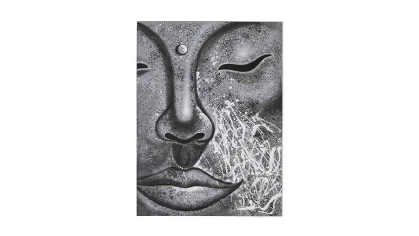 "Gemälde ""Buddha"" POMP Mahagoni MDF 90 x 120 cm"