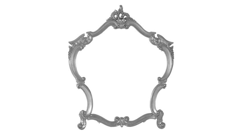 Spiegel POMP Mahagoni MDF silberfarbig 105 x 125 cm