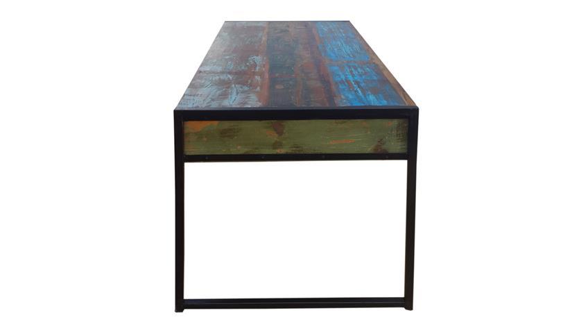 Schreibtisch BALI recycletes Altholz Altmetall factory design