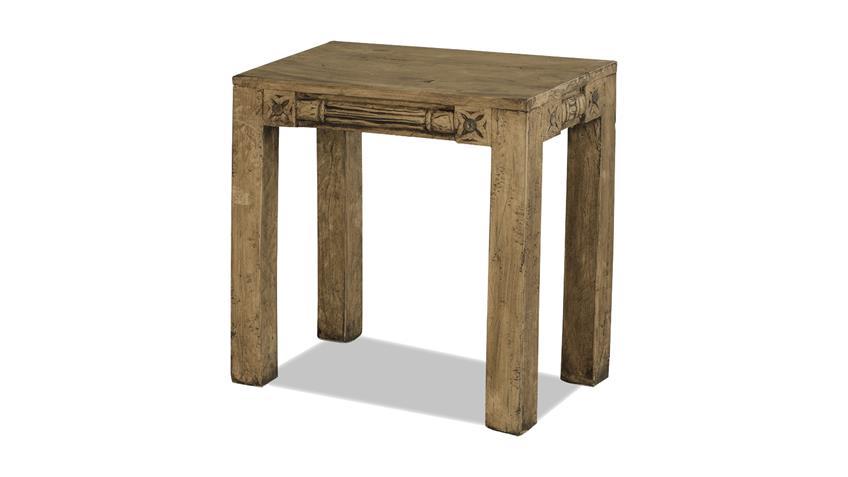2-Satz-Tisch Jaipur recycletes Altholz Götterbaum