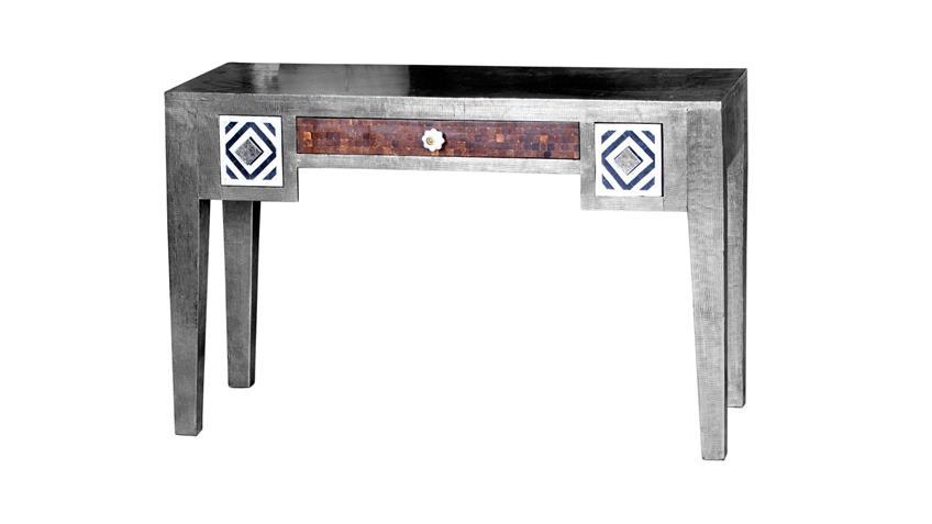 Schreibtisch Metal & Bone Mango Metall Kokosnussschale Knochen