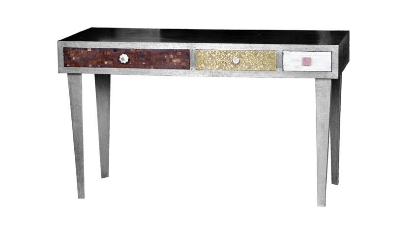 Tisch Metal & Bone Mango Metall Kokosnussschale Knochen