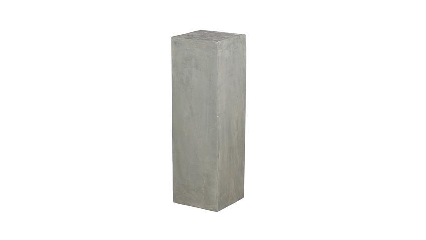 Blumensäule Cement aus Mango MDF mit Zement