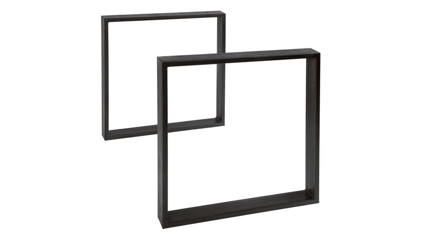 Esstisch Tops & Tables Eisengestell Altholz bunt lackiert