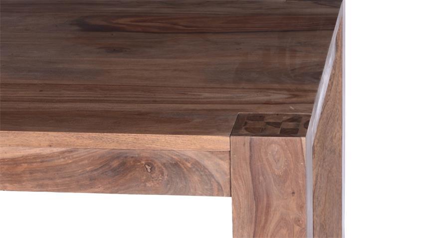 Esstisch Thor 170x85 cm aus Sheesham-Holz massiv