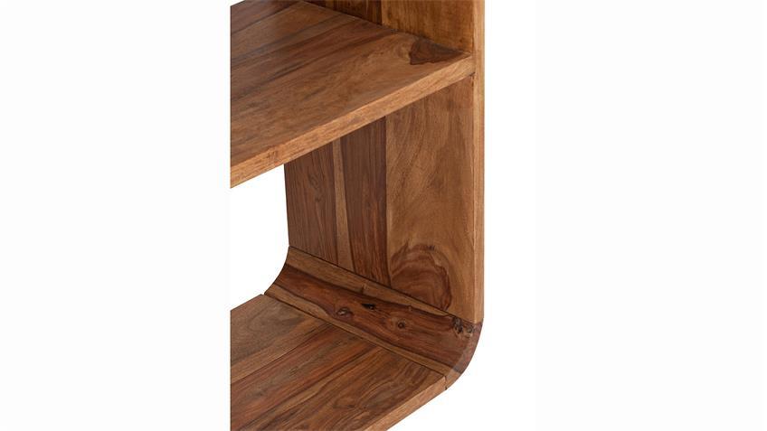 Bücherregal GOA von SIT Sheesham Holz massiv Breite 50 cm