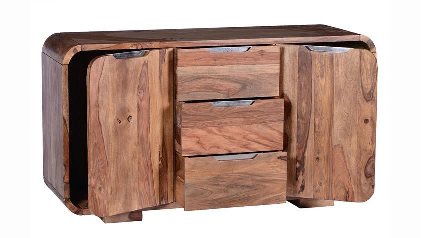 Sideboard GOA von SIT Sheesham Holz massiv Breite 145 cm