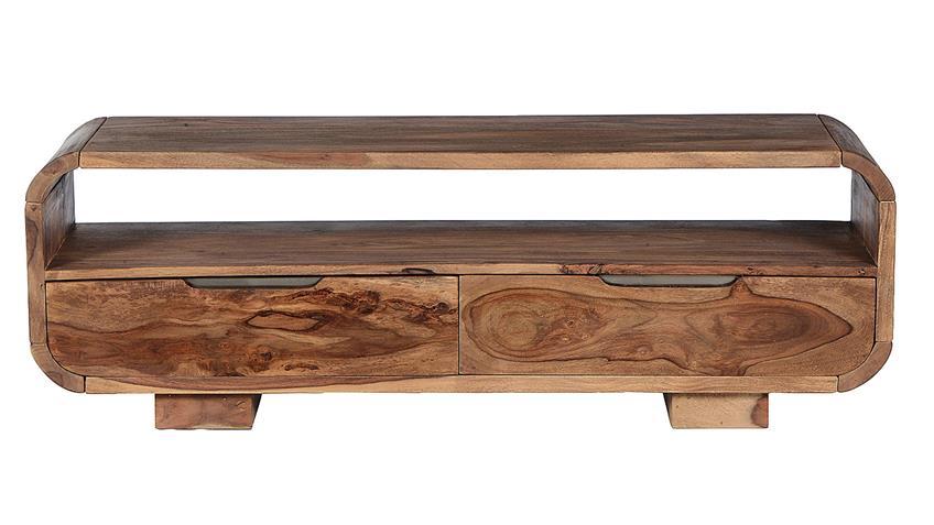 Lowboard GOA von SIT Sheesham Holz massiv Breite 130 cm