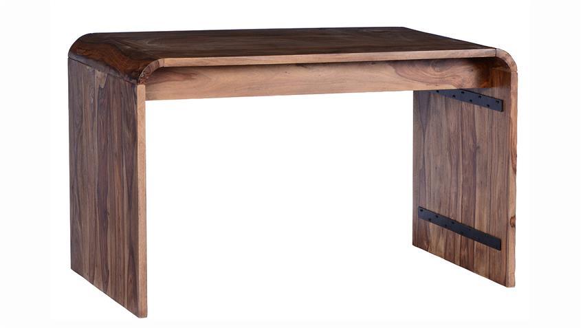 Schreibtisch GOA von SIT Sheesham Holz massiv Breite 130 cm