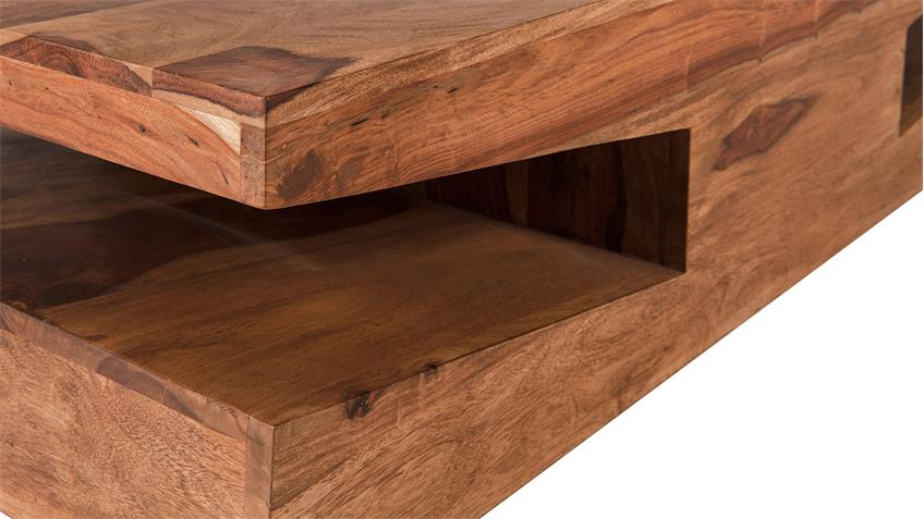 Couchtisch GOA von SIT Sheesham Holz massiv Breite 115 cm
