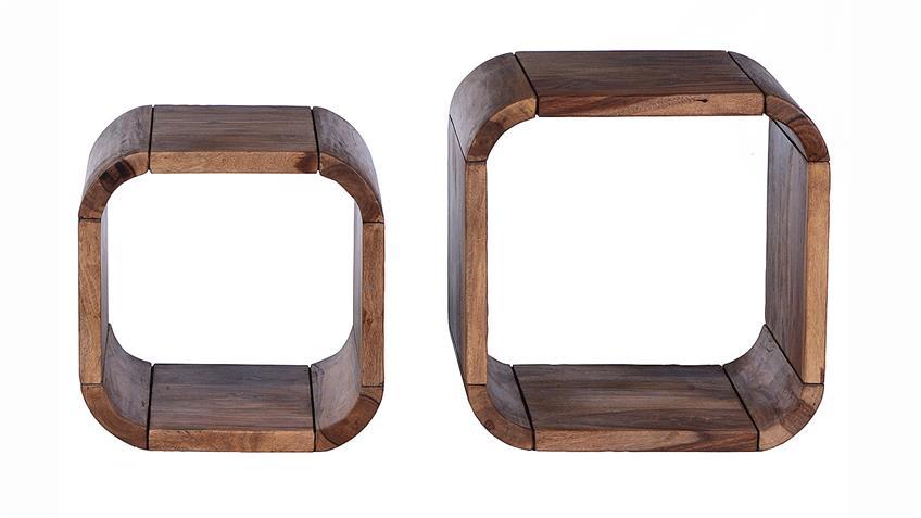 Regal Set GOA von SIT in Sheesham Holz massiv lackiert gewachst