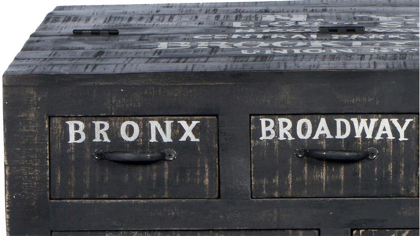 Couchtisch BRONX von SIT in Mangoholz antikschwarz lackiert