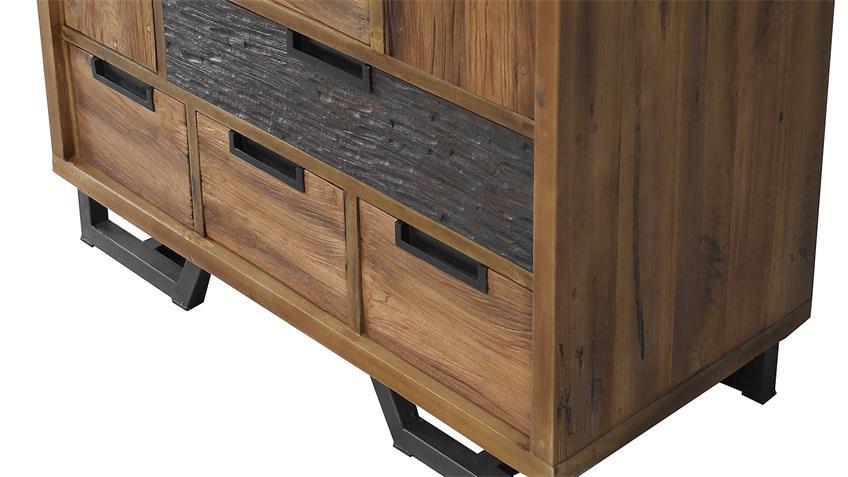 Kommode THALYSA von SIT Albesia Holz recyceltes Teakholz