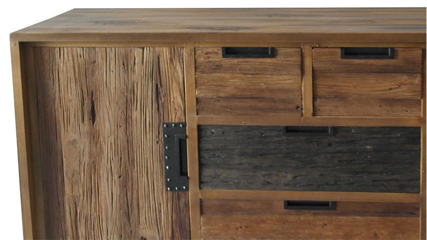 Sideboard THALYSA von SIT Albesia Holz recyceltes Teakholz