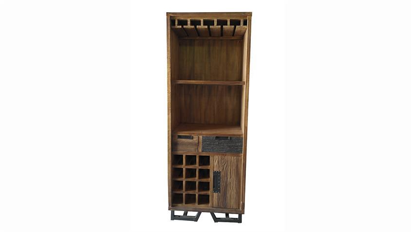 Weinregal THALYSA von SIT Albesia Holz recyceltes Teakholz