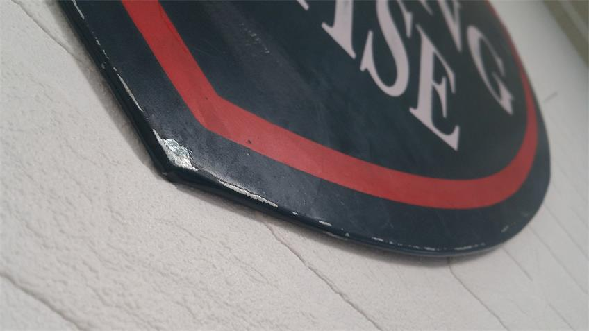 Wand-Dekoration Vintage rustikal Eisen Used 50x51 cm