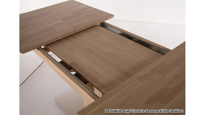 TENY Esstisch Kernbuche natur lackiert - 150/200x90 cm