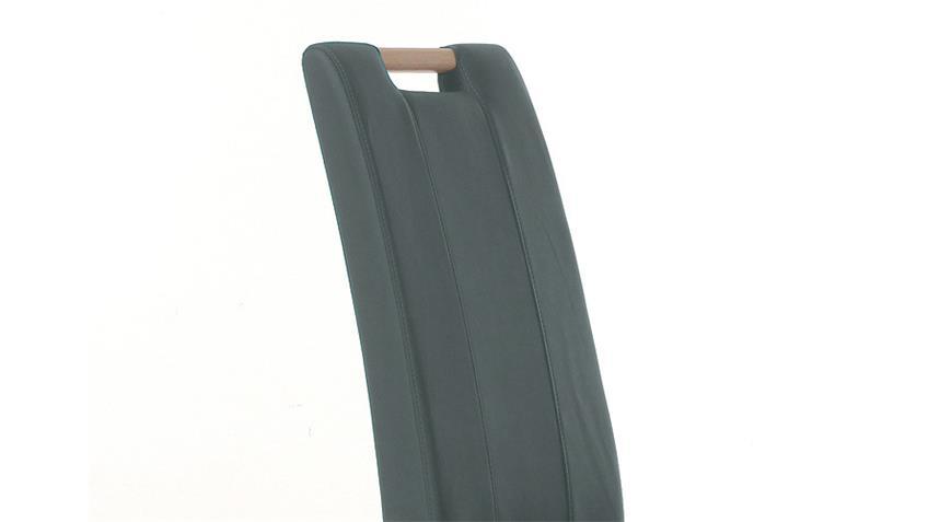 Stuhl SAM 2 grau und Sonoma Eiche mit Griff