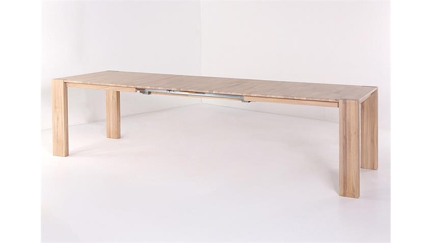 Tischgruppe DARIO 1 FLORIAN Sonoma Eiche braun 7 teilig