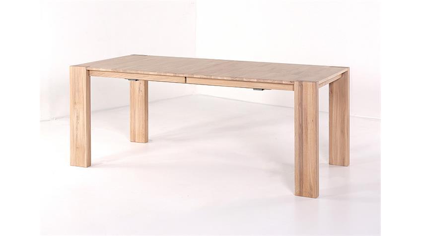 Tischgruppe DARIO 1 FLORIAN Sonoma Eiche grau 7 teilig