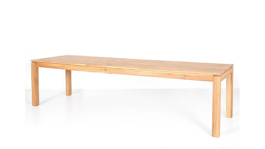 Tischgruppe NEVEN BELA Eiche natur massiv geölt braun
