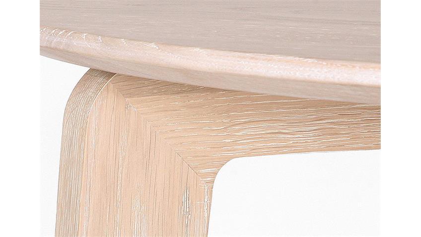 Tresentisch LIAM Eiche Sonoma massiv lackiert Ø 95 cm