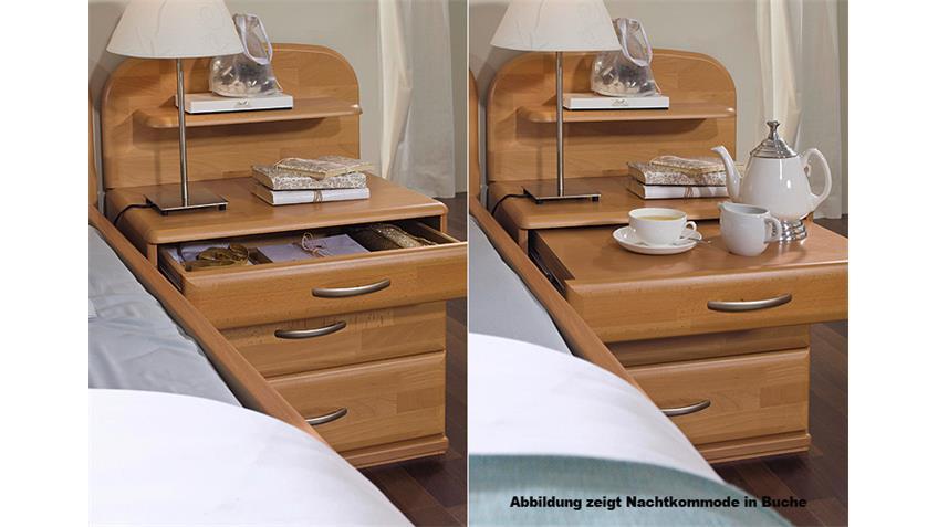Schlafzimmer-Set II VANESSA PLUS Wildeiche natur teilmassiv
