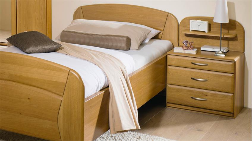 Schlafzimmer VANESSA PLUS Wildeiche natur teilmassiv von Steffen