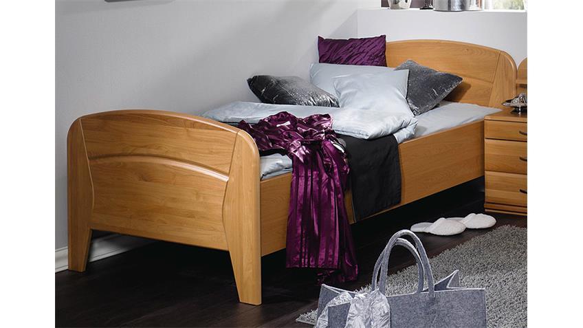 Schlafzimmer-Set VANESSA PLUS Erle natur teilmassiv