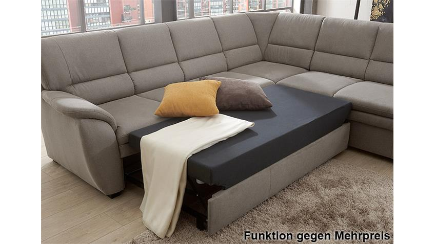 ecksofa ginger grau ottomane rechts 3 sitzer links federkern. Black Bedroom Furniture Sets. Home Design Ideas