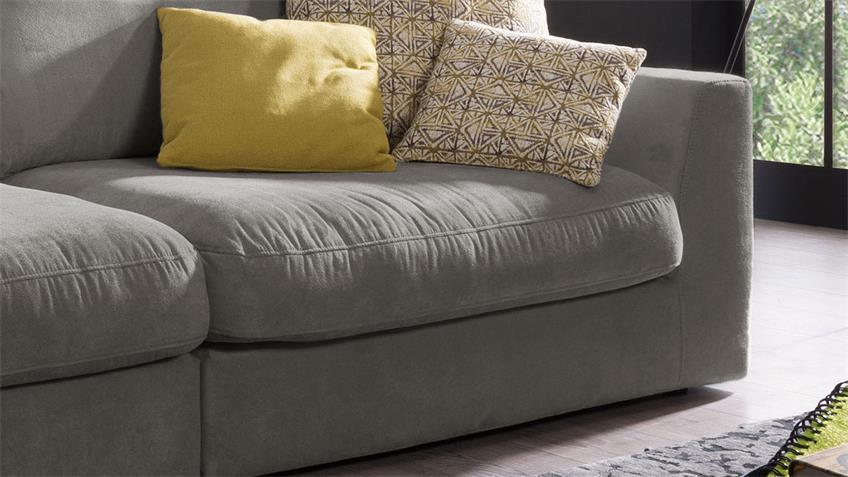 Big Sofa FULTON 3-Sitzer Couch in Stoff savannah 274 cm