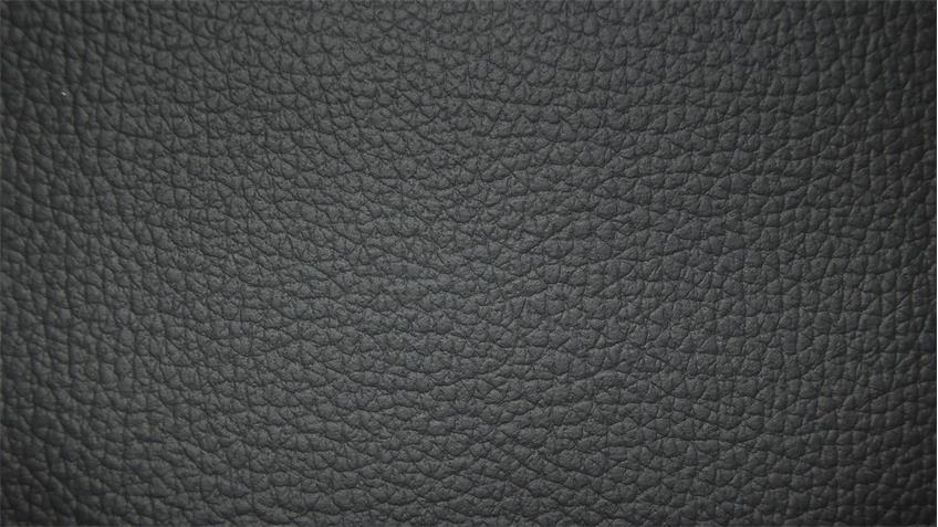 Sofa BORNHOLM 2,5-Sitzer Echtleder schwarz Nosagfederung