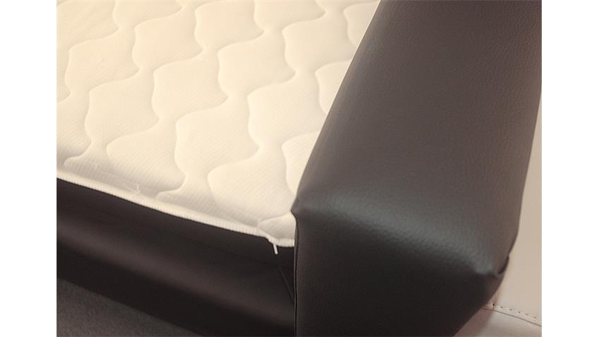 Boxspringbett BX 290 Schlafzimmerbett in schwarz 180x200