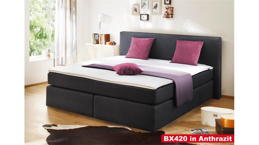 Boxspringbett BX420 Bett Schlafzimmerbett in braun 180x200