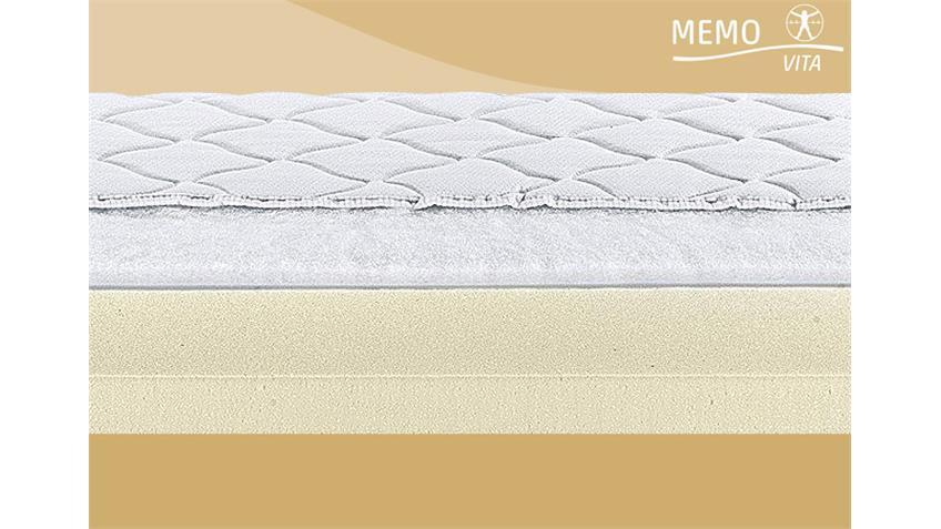 Matratzenauflage MEMOVITA V120 Viskoelastikschaum Topper 180x200