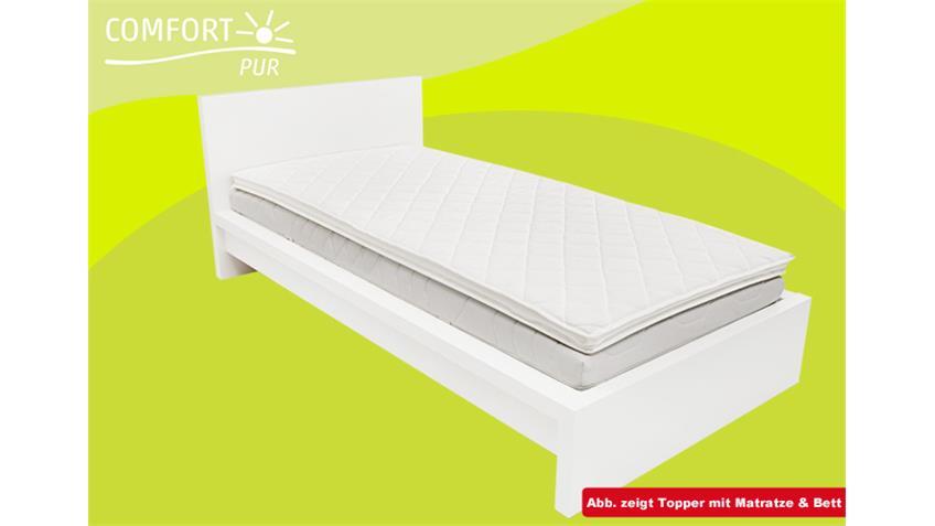 matratzenauflage topper comfortpur p340 140x200. Black Bedroom Furniture Sets. Home Design Ideas