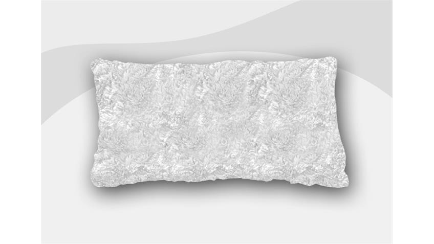 Armlehnkissen VANESSA Zierkissen Kissen in natur 40x60 cm